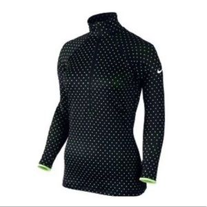 Nike Dri Fit Hyper Warm Training Half Zip Pullover